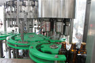 Isobaric Carbonated Drink Filling Machine Glass Bottle Filling Line