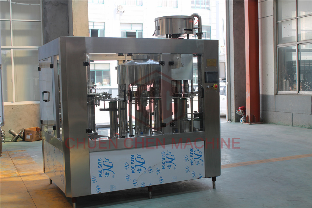Auto Mineral Water Bottle Filling Machine Small Capacity 1000 - 2000BPH