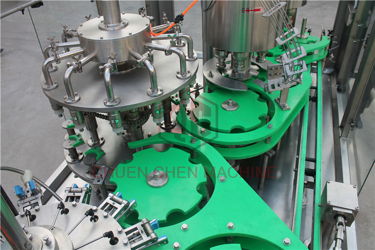 Automated Jar Beverage Filling Machine Complete Production Line