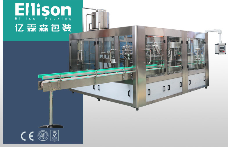 Automatic 5L 10L Water Rinsing Filling Capping Machine Monoblock System